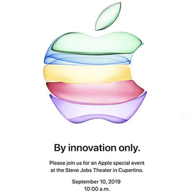 Apple event 2019 op 10 september 2019