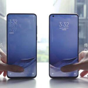 Xiaomi frontcamera achter het scherm